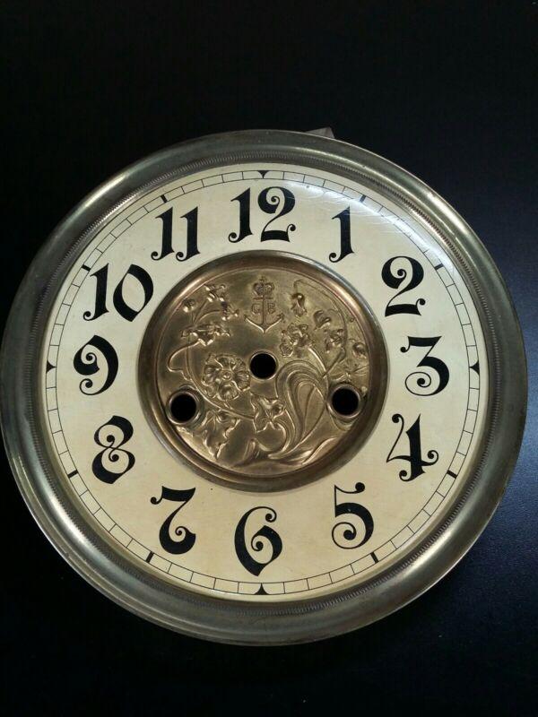 Antique Vienna regulator wall clock Gustav Becker DIAL for PARTS GB