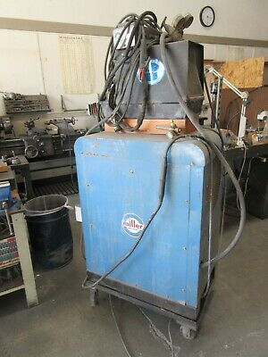Miller Acdc Inert Gas Welder Model 320 Abp With Chillerfrom Work Shopfcfs