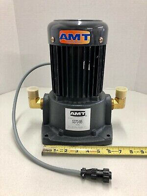 Amt 5370-95 Coolant Pump New Cnc Mill Lathe Water Oil 34 Hp Suction Cast Iron
