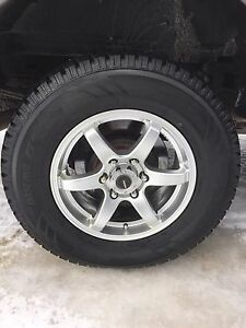 2004 too 2017 Ford F-150 rims and tires