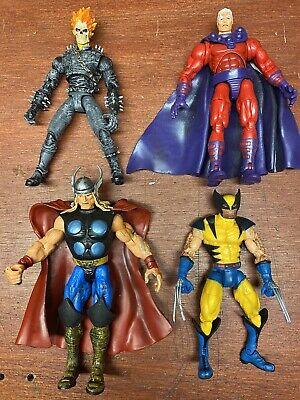 Marvel Legends Series 3 Set Wolverine, Ghost Rider, Thor, Magneto