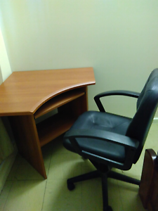 Corner computer plus office chair Southport Litchfield Area Preview