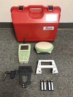 Leica Atx1230 Rover Rx1250tc Rh1200 Set Data Collector Gps Gnss Smartworx Survey