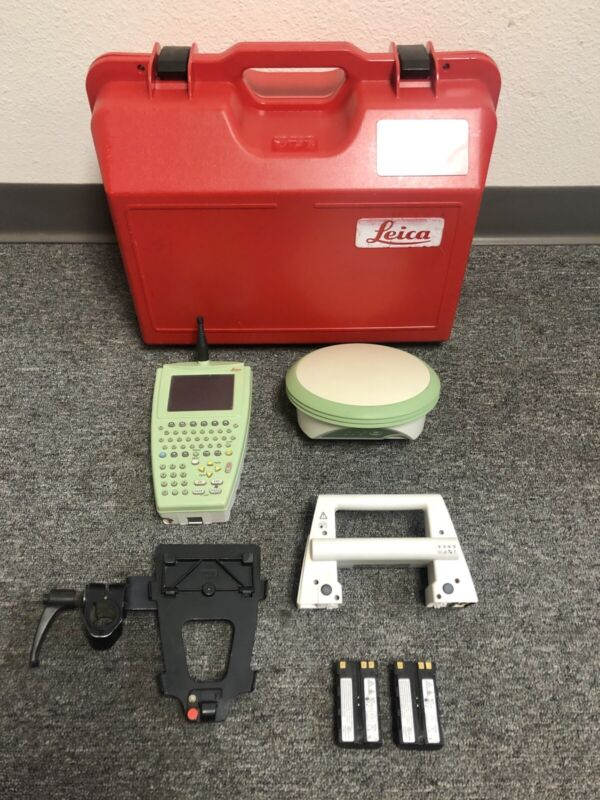 Leica ATX1230 Rover RX1250TC RH1200 Set Data Collector GPS GNSS SmartWorx Survey