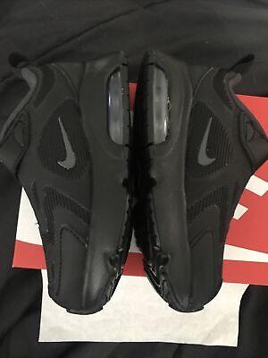 Nike Toddler Size 8C Air Max 200 (TD) Shoes Black