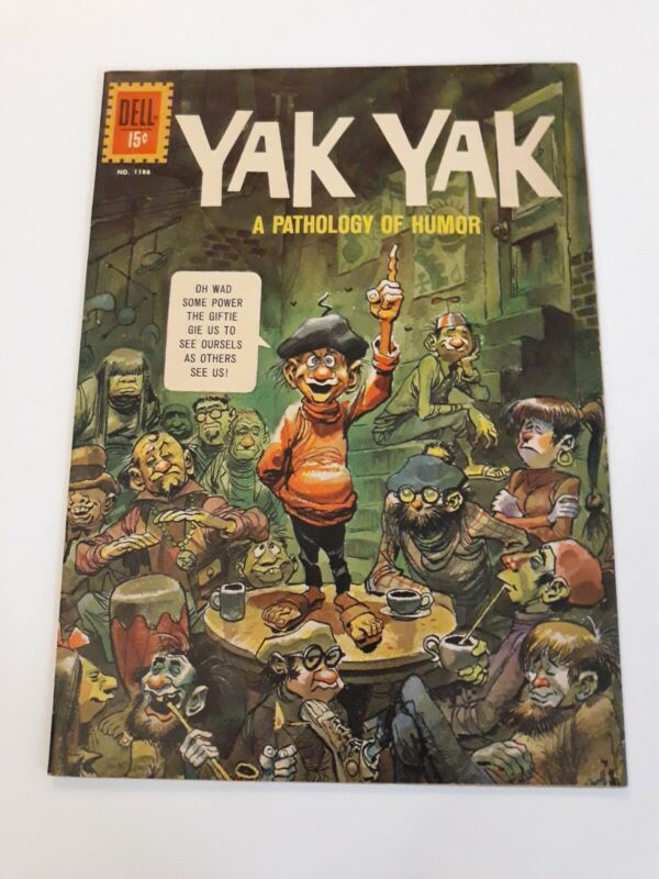 Yak yak 1186 1961 dell comics