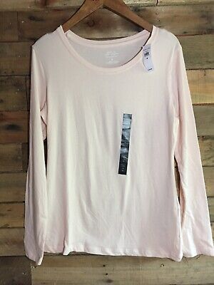 NEW NWT Womens Banana Republic Timeless Tee Long Sleeve Crewneck T-Shirt Banana Republic Long Sleeve Shirt