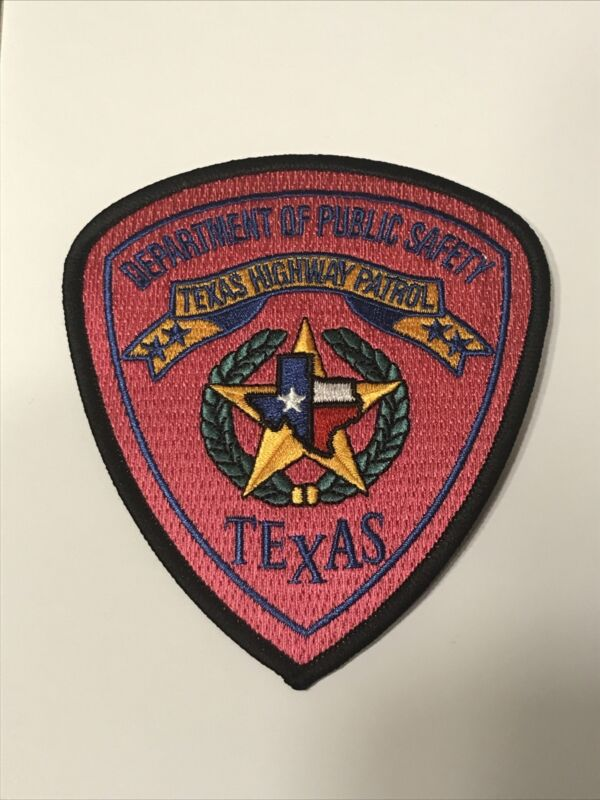 Texas Department Of Public Safety Pink Breast Cancer Awareness Patch
