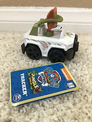 Paw Patrol Jungle Rescue Tracker Racer Nick Jr