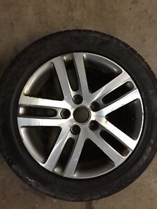 2006 vw Jetta Alloy rims and tires