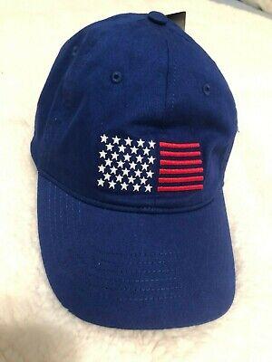 NWT UNDER ARMOUR USA AMERICANA CAP HAT WOMENS~ROYAL BLUE~CHEAP!