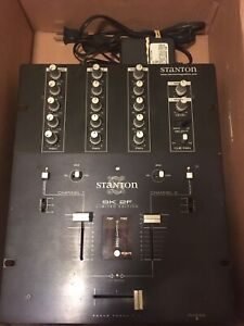 DJ mixer. Stanton SK2-F limited edition scratch / battle mixer