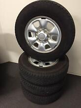 """16"""" WHEEL AND TYRE PACKAGE USED TOYOTA Keilor Park Brimbank Area Preview"""