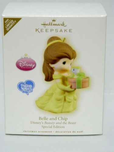 Hallmark Ornament 2009 Belle and Chip Disney