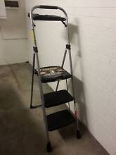 3 Step Folding Ladder With Tray (GORILLA) Indooroopilly Brisbane South West Preview