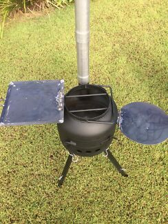 Portable camp oven cooker