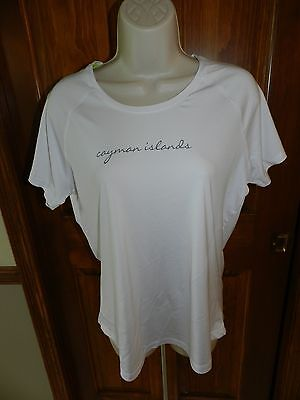 EUC Under Armour Heat Gear L large short sleeved White  shirt Cayman Islands  image