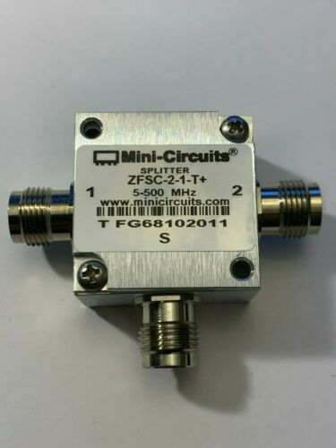 Mini Circuits 1:2 RF Splitter 5-500MHz