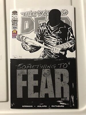 The Walking Dead #100 Black N White Fear Variant High Grade for sale  Windsor