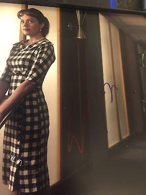 Elisabeth Moss Signed Mad Men  8X10 Photo 2 Coas Uacc Reg Dealer Sale Sale