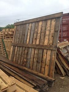 Corral fence panels