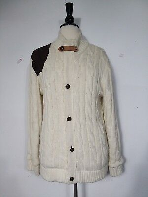 Cotton Cardigan Jacket - Paul & Louis Cardigan Sweater Jacket Heavy Cotton Blend Women's