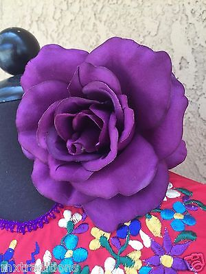 FLOWER HAIR CLIP FOR MEXICAN FIESTA,5 DE MAYO,DAY OF THE DEAD,WEDDING - Fiesta Hair