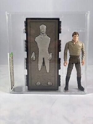 STAR WARS VINTAGE HAN SOLO CARBONITE! LAST 17! AFA 85! NO COO! NR MINT!