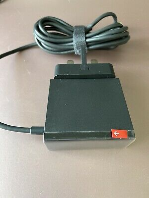 Original Google Chromecast Ultra 4K Power Supply Charger Cable With Ethernet