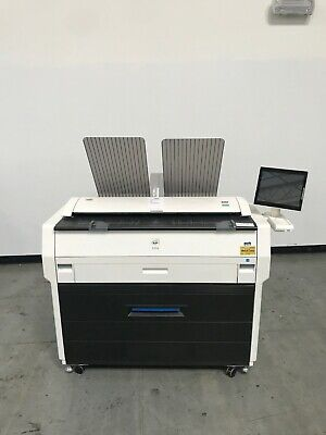 Kip 7170 Wide Format Copier Printer Scanner Only 35k Meter Reading