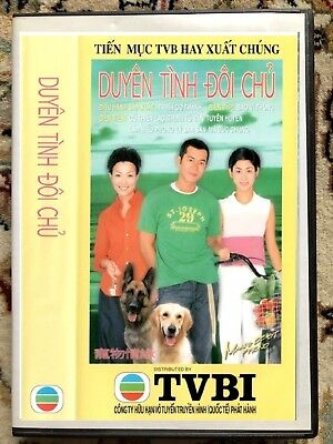 DUYEN TINH DOI CHU - PHIM BO HONGKONG - 4 DVD -  USLT