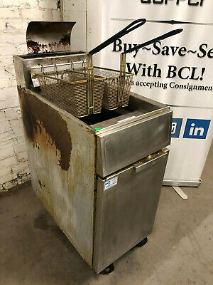 Frymaster Gf14sd 40 Lb. Deep Fryer