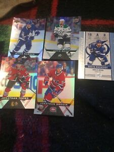 Got 5 hockey cards that are foil