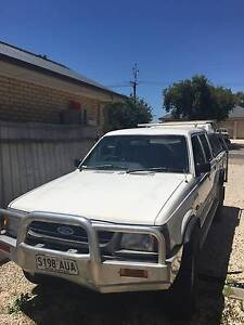 1996 Ford Courier Ute 4x4 Klemzig Port Adelaide Area Preview