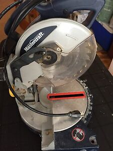 Master craft sliding mitre saw