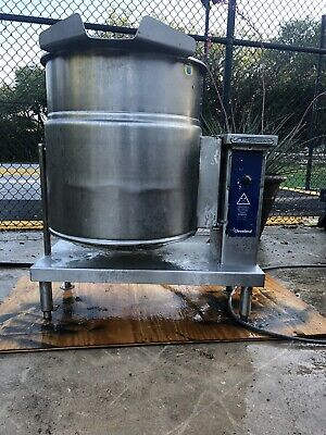 Cleveland Tilting Electric Steam Jacketed Kettle Ket-20-t Restaurant Commercial