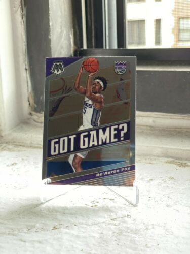 2019-20 PANINI MOSAIC SACRAMENTO KINGS DE'AARON FOX GOT GAME INSERT PARALLEL
