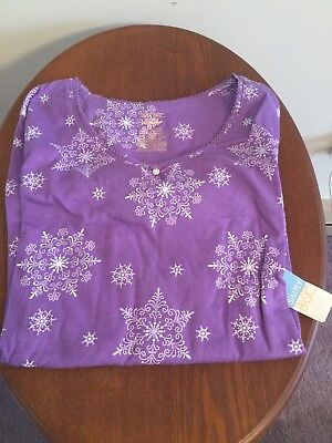 Girls Snowflake Nightgown/Sleepware Christmas Gift NWT