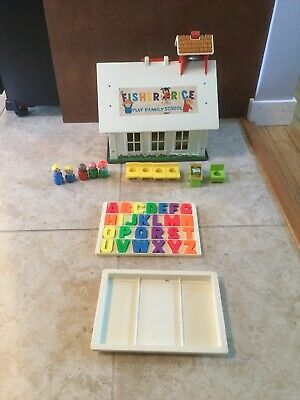 Fisher Price Play Family School Play Set 1970s