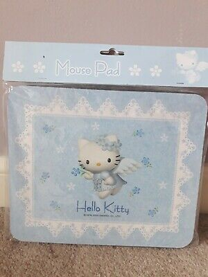Hello Kitty Angel Mousepad Rare Vintage 2000