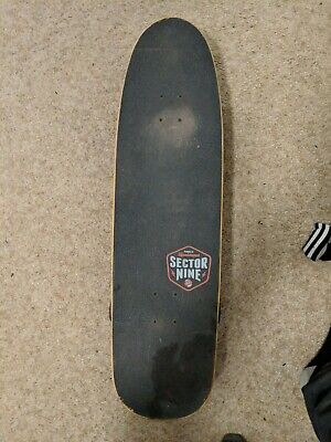Sector 9  32in x 9in, Auburn and White