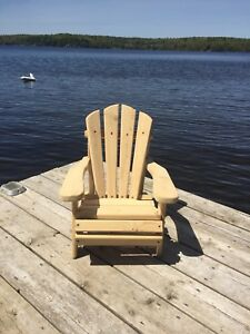 Child size Adirondack chair