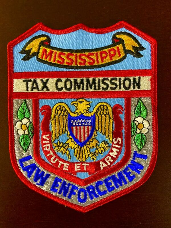 Mississippi Tax Commission Police Patch