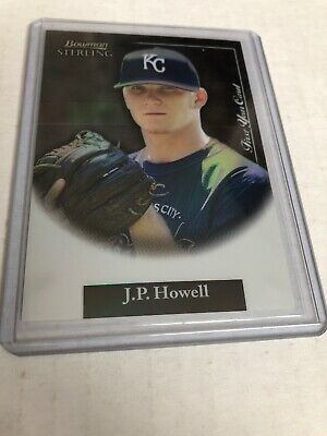 2004 Bowman Sterling Baseball - 2004 Bowman Sterling REFRACTOR SP /199 JP Howell #BS-JPH KC Royals Baseball (b)