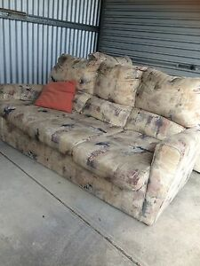 Three seater couch Queenstown Port Adelaide Area Preview