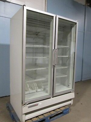 Kelvinator Hd Commercial Nsf Two Doors Lighted Display Merchandiser Freezer