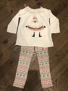 MudPie Christmas Outfit - size 5T
