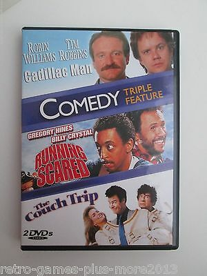 Cadillac Man/Running Scared/Couch Trip (DVD, 2010, 2-Disc Set) Used (Region 1) for sale  Shipping to Canada
