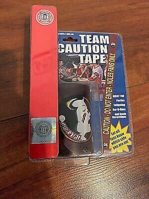 Florida State Seminoles  - 50 ft roll Caution Tape - Tailgate Brand NEW NIP  ()