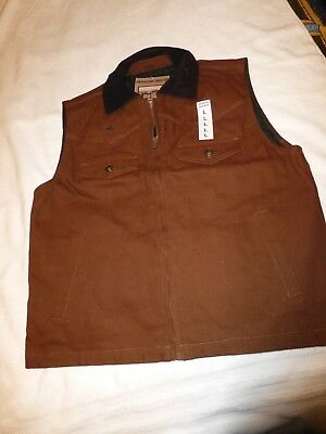Wyoming Traders Concealed Carry Vest (XXL) Cinnamon